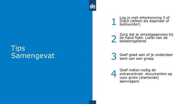 TVL-aanvraagformulier, TVL Q2 2021, TVL, uitleg aanvraag, RVO, Overheid,