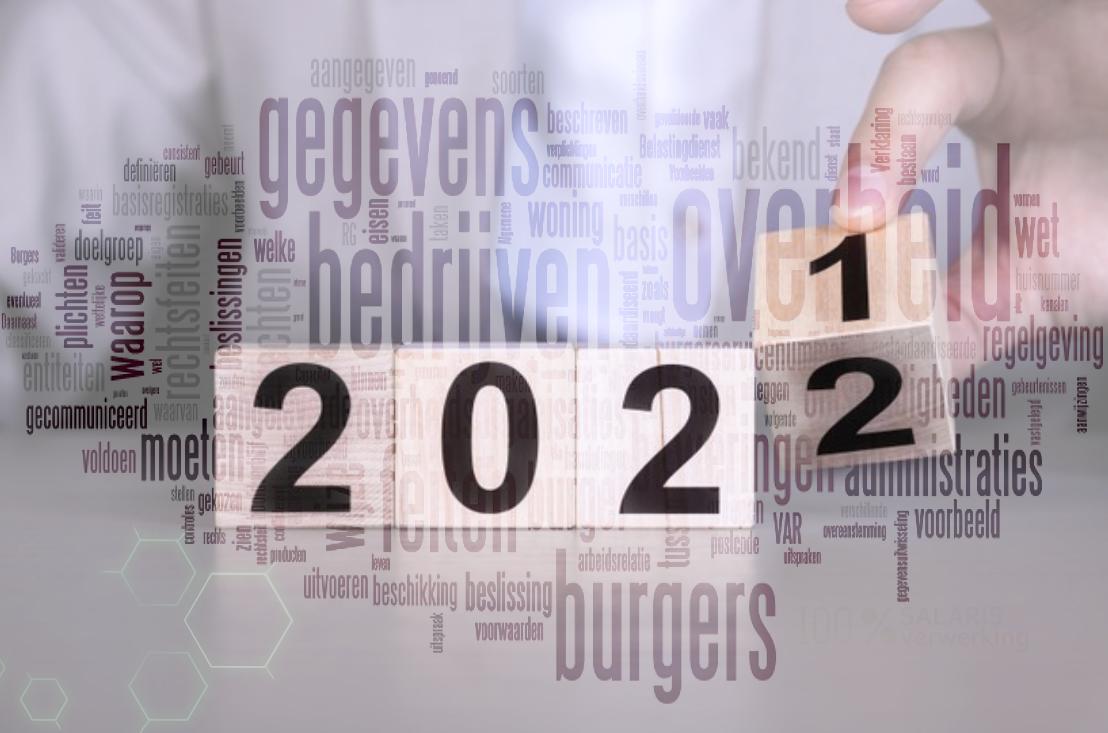 Wet en regelgeving 2022, Overheid 2022, UWV 2022, Belastingdienst 2022, besluiten 2022, regels 2022, lonen 2022, salarissen 2022,