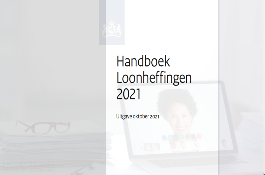 Handboek Loonheffingen oktober 2021